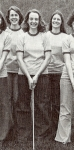 Where were these golfers at the Reunion tournament?  Sue Warden, Jacquie Hansen, Margaret Clark - see you at the 40th!