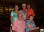 John Arthur, Debbie Sell, Kathy Arthur, Connie Williams Vogelzang, Richard Vogelzang