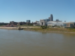 Missouri River, Downtown Omaha.